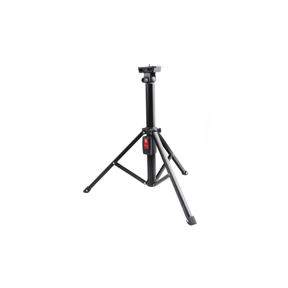 Dual Camera Clip Aluminum Alloy Portable Tripod Handheld Gimbal Stabilizer for Camera Phone Gopro