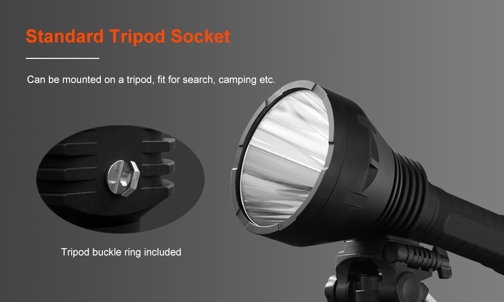 Lumintop BLF GT70 XHP70.2 7500LM 1400m Cool White Super Bright Searching LED Flashlight Camping Hunting Torch