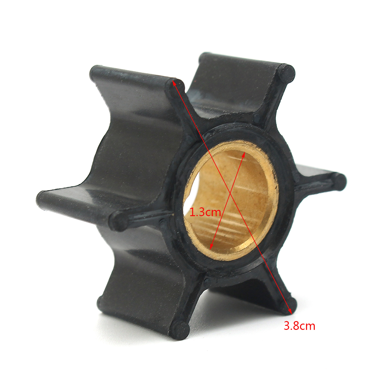 Water Pump Impeller For Johnson Evinrude 9.9/15HP Outboard 386084 18-3050 500355