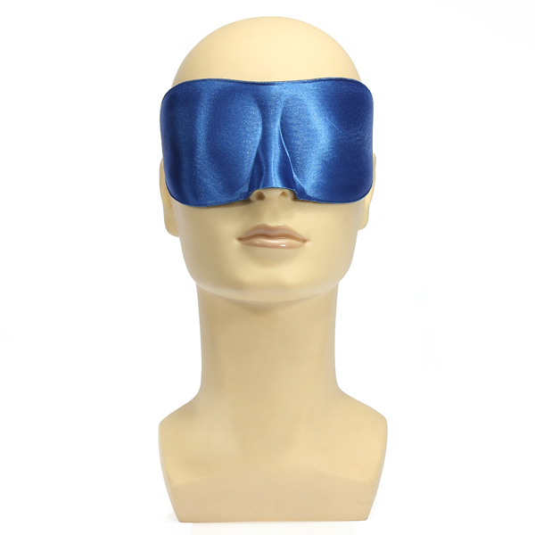 Silk Foam 3D Eye Mask Shade Comfort Winker Patches Blinder Shield Travel Sleeping Aid