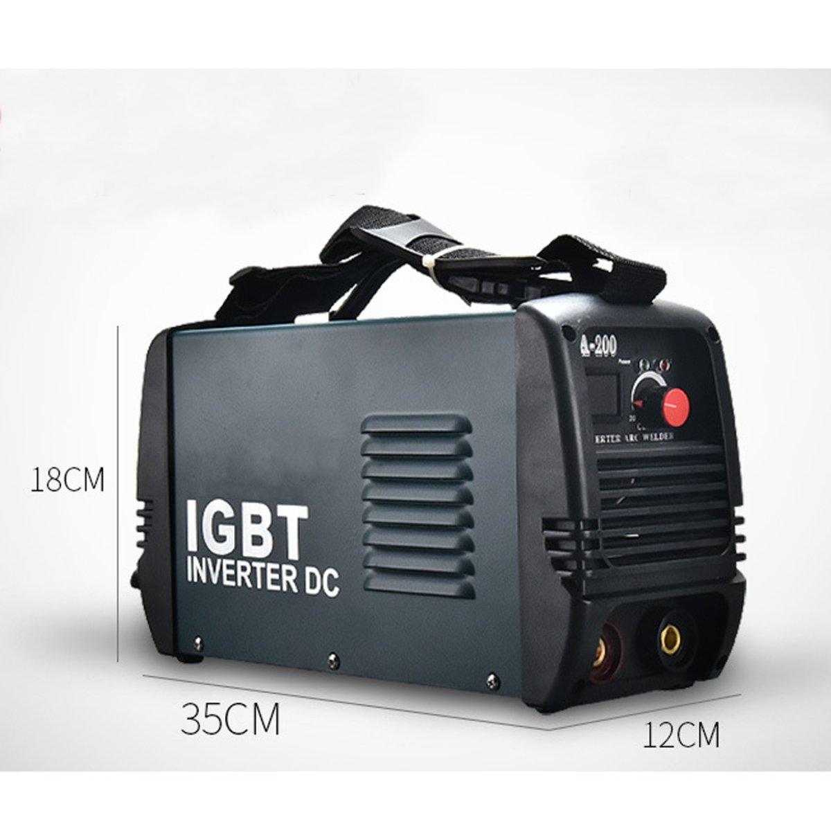 220V 4800W Mini ARC Inverter Welder IGBT Handheld Portable Arc Welding Machine