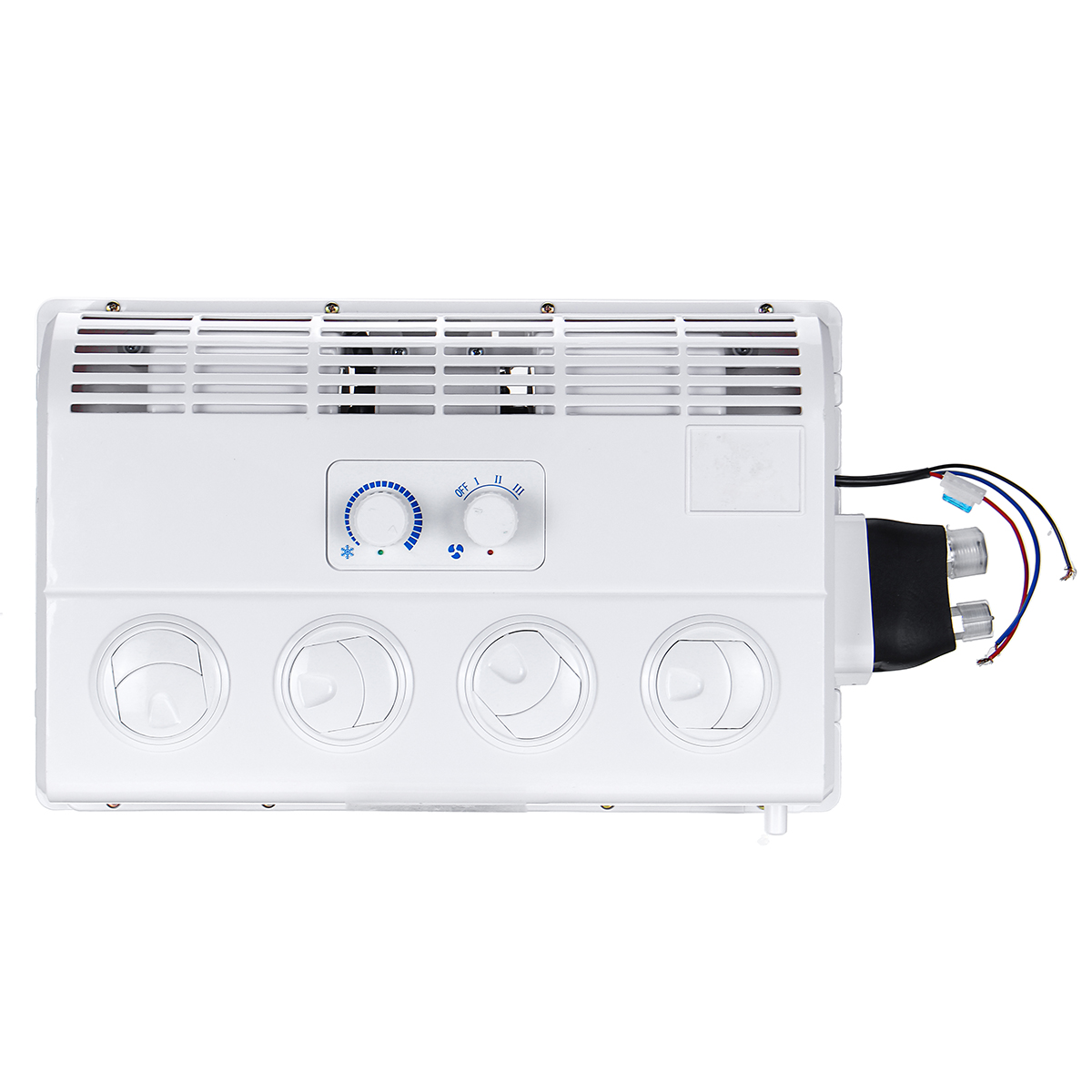 Wall-mounted 12V Car Air Conditioner Caravan Truck Bus Excavator Cooling Fan Gear
