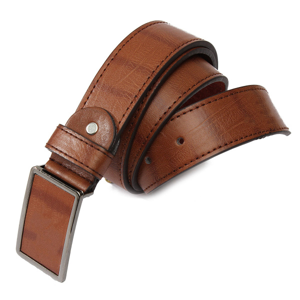 Fashion Mens Vintage Metal Pin Buckle Business Waistband Belt