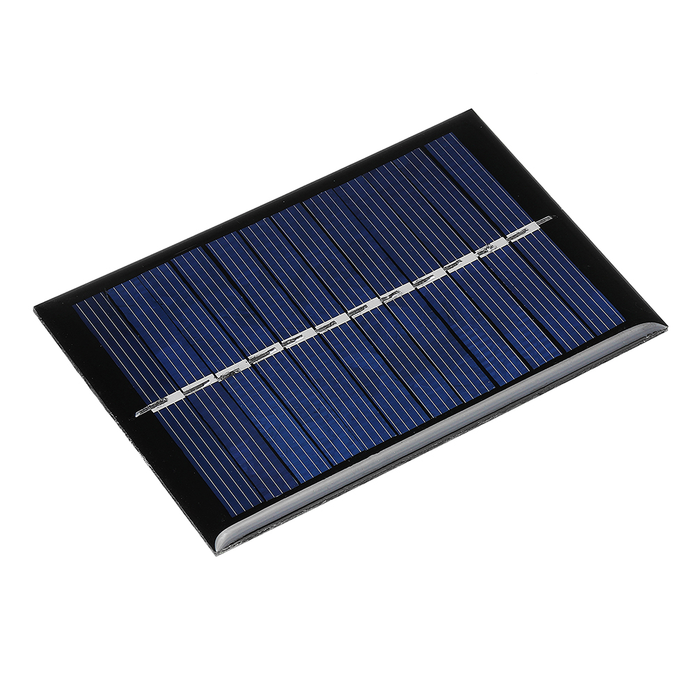 0.6W 6V 90*60*3mm Mini Photovoltaic Epoxy Solar Panel DIY Part