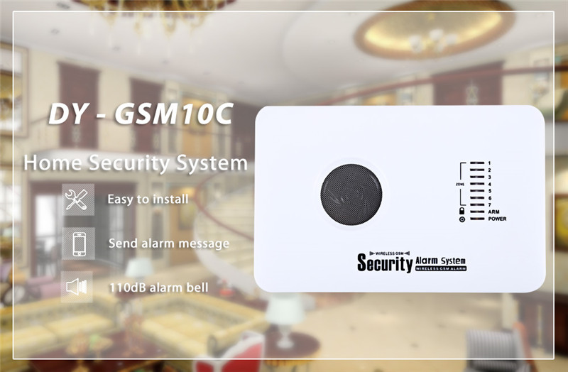 DY-GSM10C GSM Intelligent Infrared Alarm Home Security Sensor Smart Sensor Alarm System APP Control