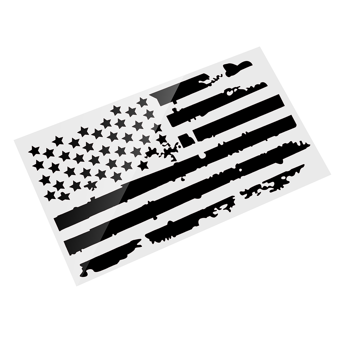 20X35 Inches USA Flag Car Hood Stickers Vinyl Auto Cover Truck Decals Universal