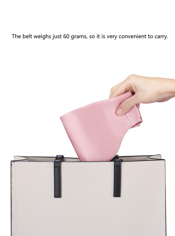 Xiaomi D11 PMA 100% Real Silk Graphene Therapy Heating Waist Belt 3 Gear Ultralight Body Heater Massager