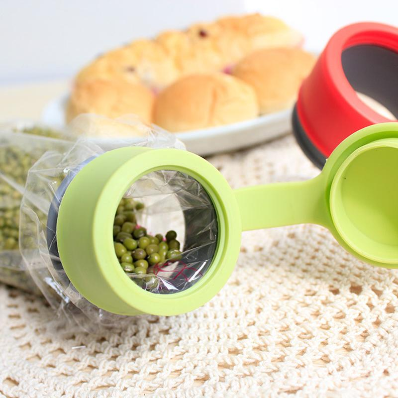 Honana CF-BC03 Silicone Magic Food Bag Seal Ring Clips Fresh Multifunctional Silicone Seal Ring Cap