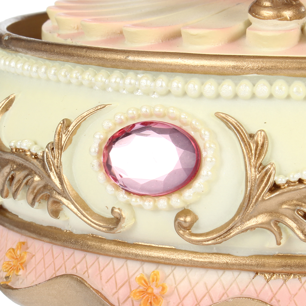 7 Colors LED Flash Light Horse Classic Merry-Go-Round Carousel Music Box Birthday Gift