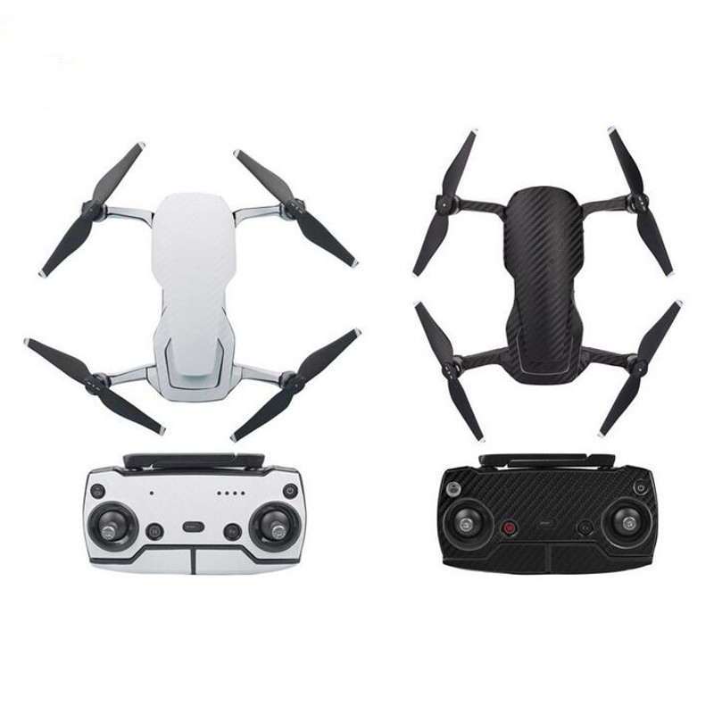 Sunnylife Waterproof PVC Carbon Fiber Stickers Drone Body Remote Control Full Set for DJI Mavic Air