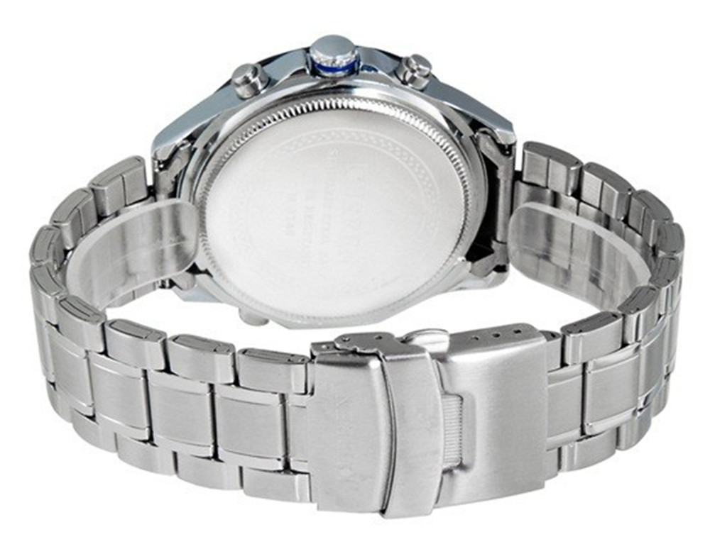 CURREN 8149 Casual Stainless Steel Analog Quartz Wrist Watch