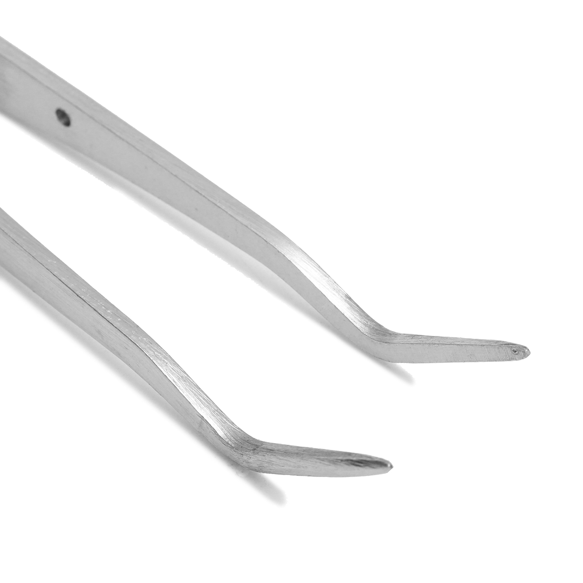 10Pcs 6inch Stainless Steel Dental Tweezers Surgical Lab Instruments Dentistry Tool