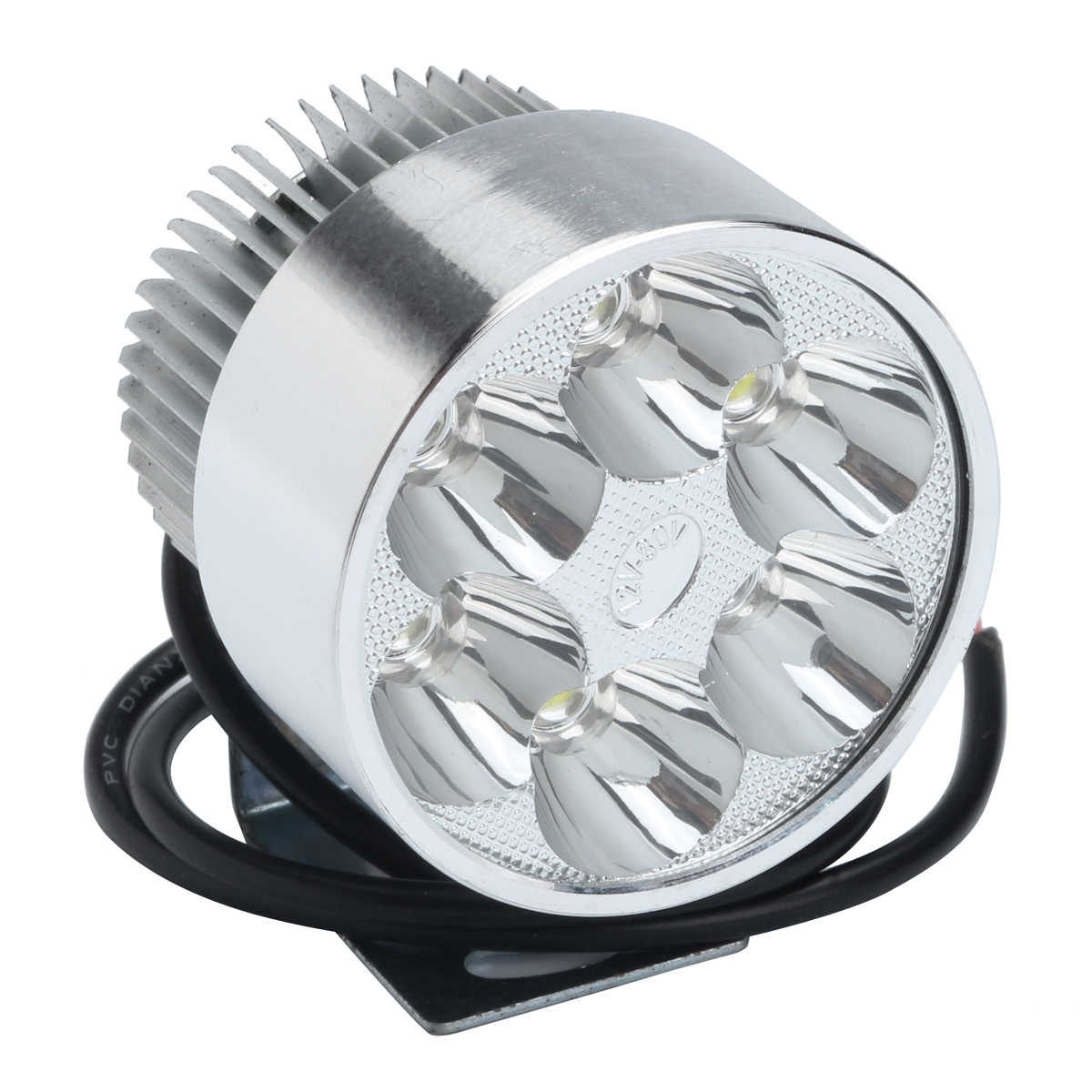 12V 30W Motorcycle Scooter Moped High Power Spot Light Waterproof LED Headlights