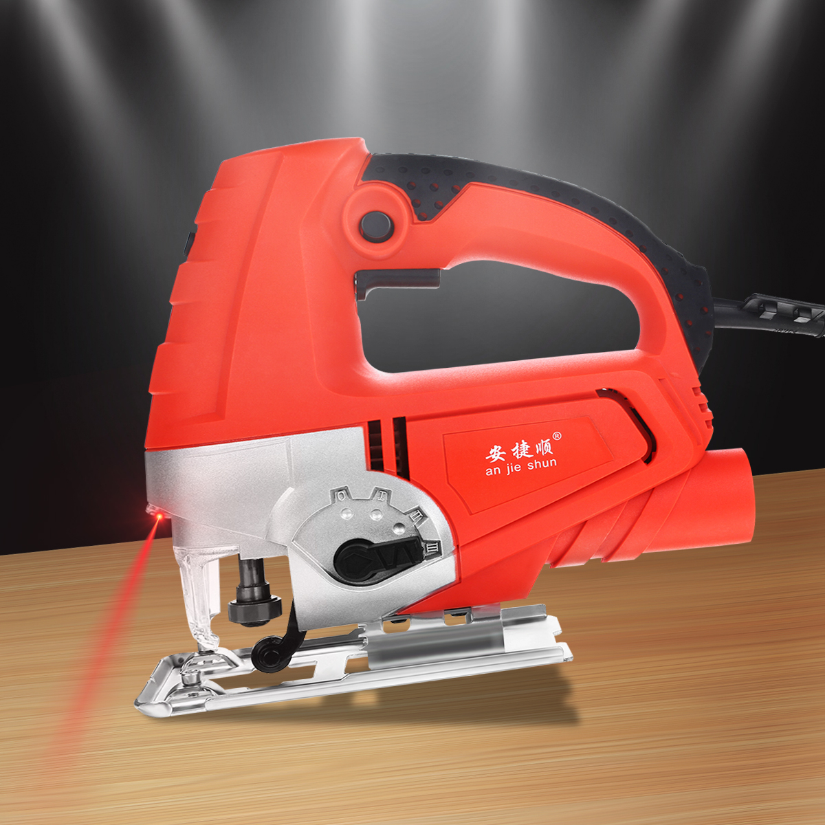 Raitool™ 500W Handle Jigsaw Kit Electric Jigsaw Cutting Machine Cutter Saw Tool With Laser Guide