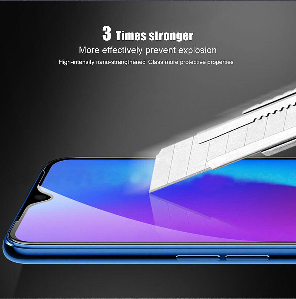 Bakeey 9H Anti-Explosion Full Cover Tempered Glass Screen Protector For OnePlus 7 / OnePlus 6T