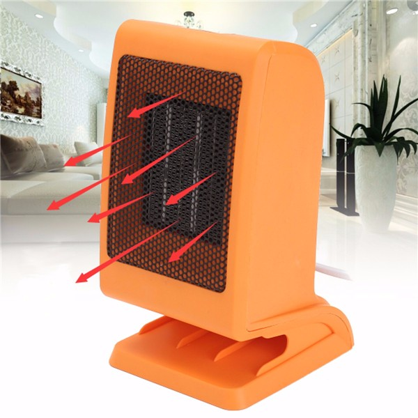 220V 1500W Portable Electric Ceramic PTC Eco Office Home Caravan Fan Heater