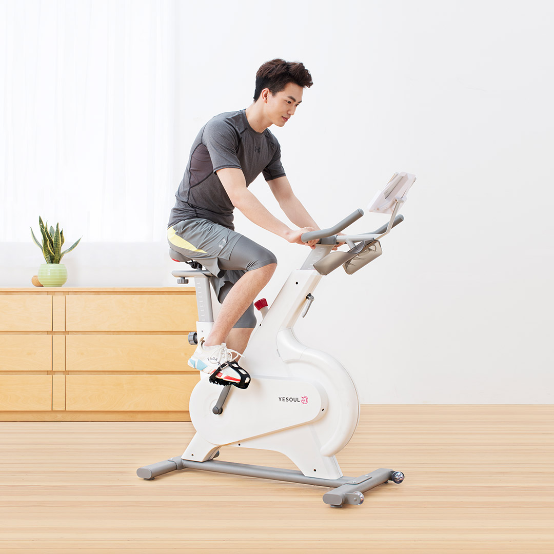 Xiaomi YESOUL M1 Electric Bike Indoor Exercise Bike Advanced Intelligent Sports Fitness Spinning Bike With Training Computer Support Android IOS