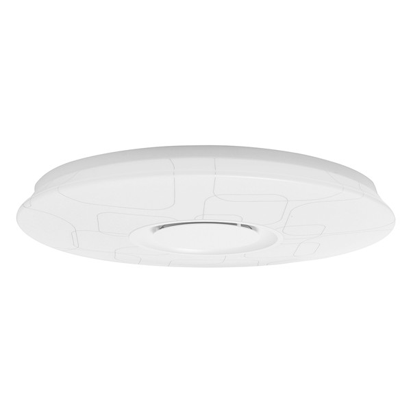 24W Dimmable Flush Mount LED Ceiling Light Music Pendant Lamp with bluetooth Speaker AC95-265V
