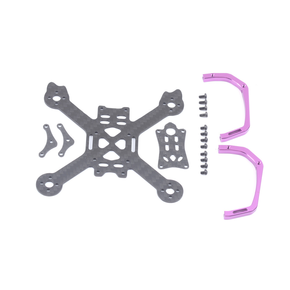 Skystars Edge X95 95mm Wheelbase 1.5mm Arm Carbon Fiber Frame Kit for Micro RC Drone FPV Racing - Photo: 8