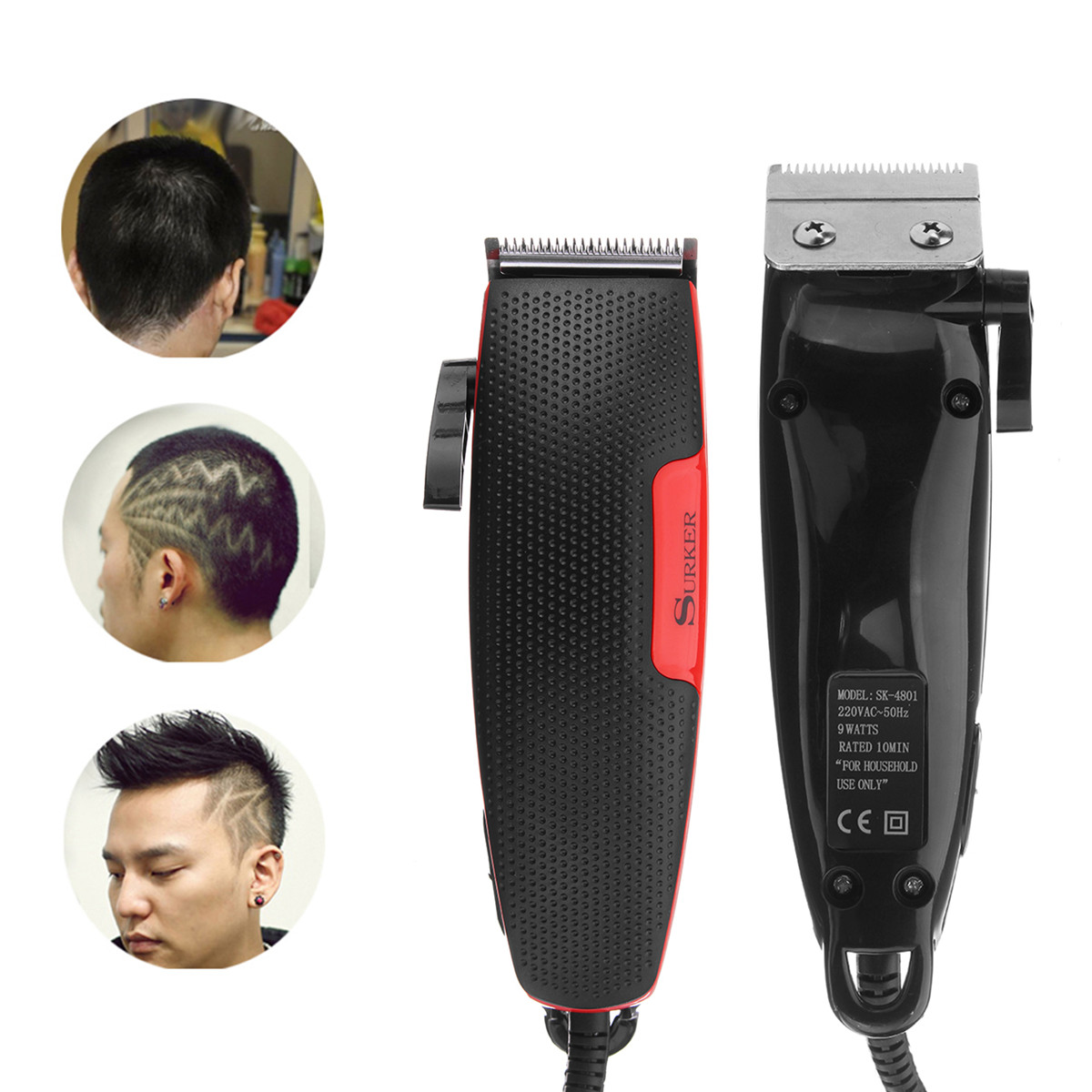 Professional Electric Rechargeable Hair Clipper