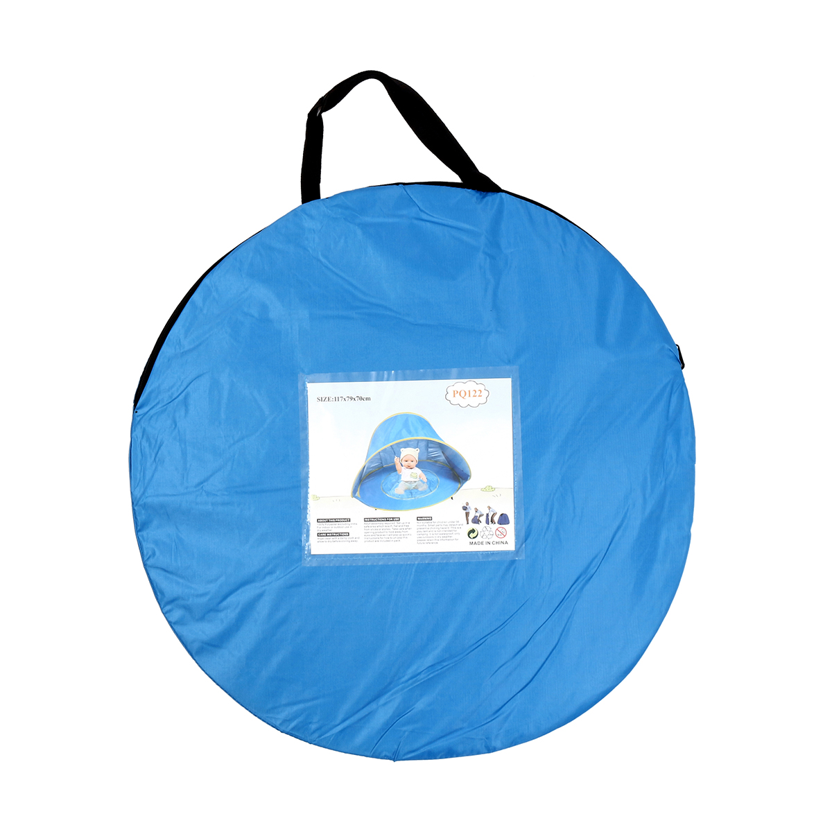 Portable Baby Children Beach Pop Up Play Tent Anti-UV Sunshade Shelter With Water Pool