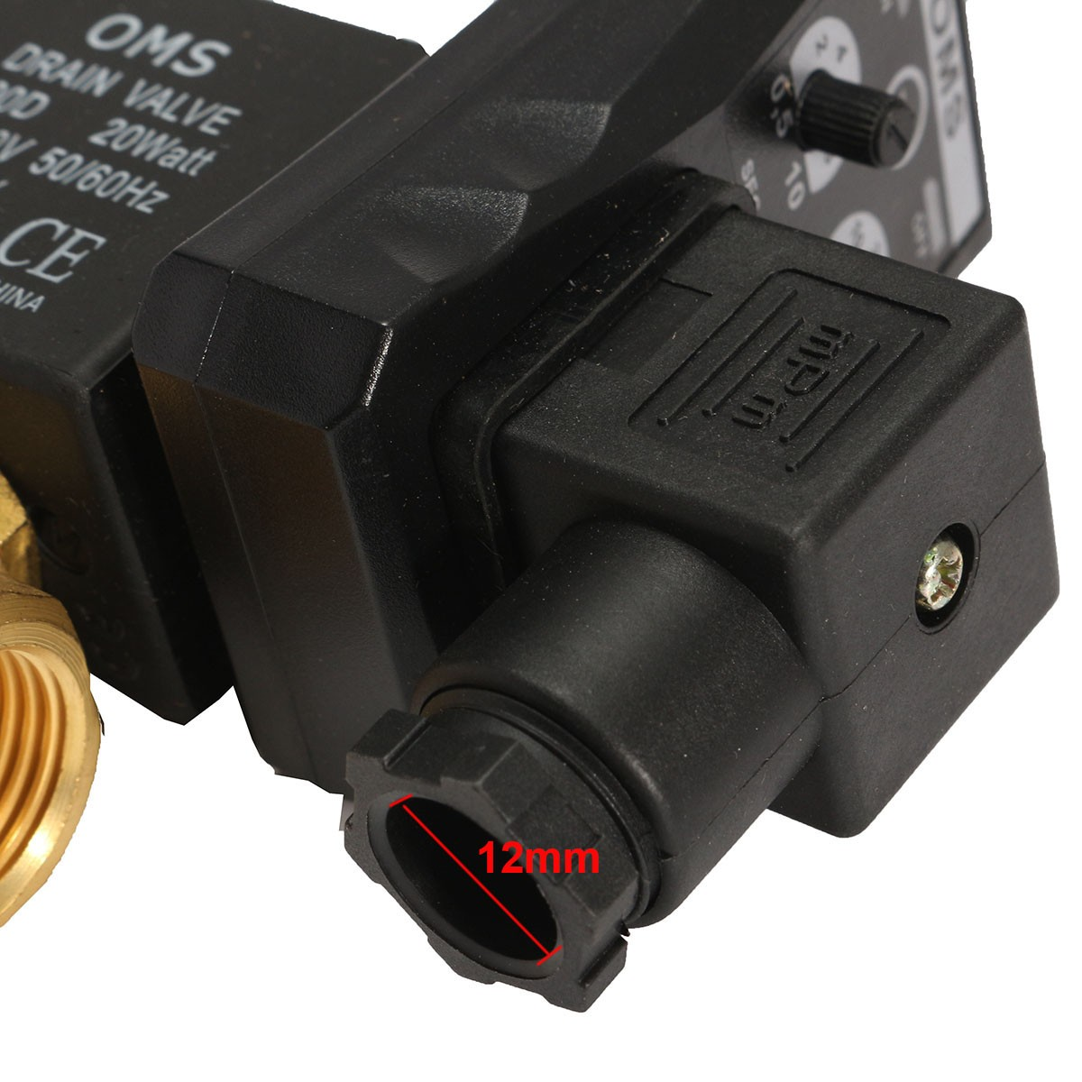 1/2inch AC 220V Automatic Electronic Timed Valve Air Compressed Gas Drain Valve