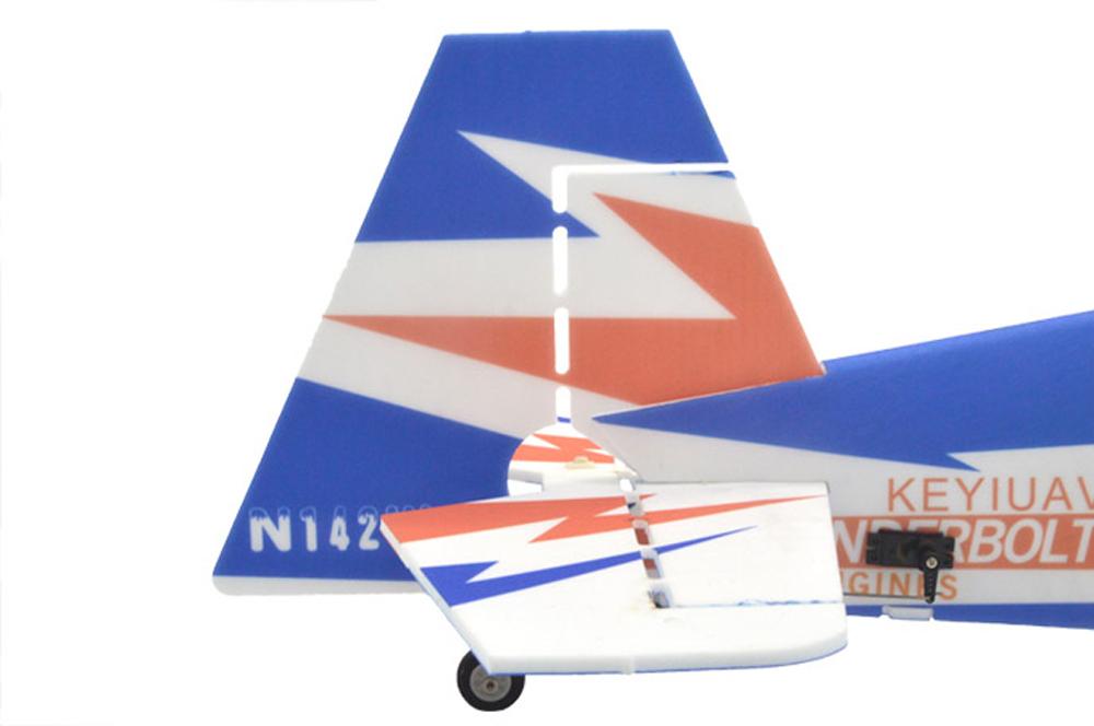 KEYIUAV SBACH 342 900mm Wingspan PP 3D Aerobatic RC Airplane KIT