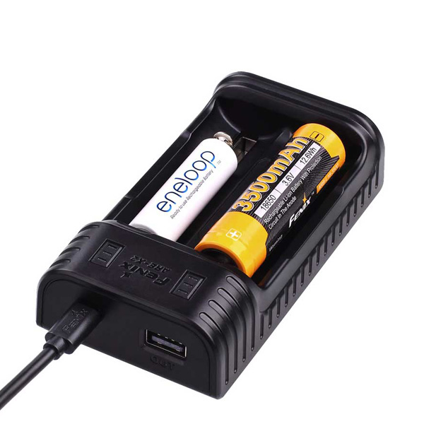 Fenix ARE-X2 USB Dual-Channel Smart Battery Charger For Li-ion/Ni-MH/Ni-Cd Battery