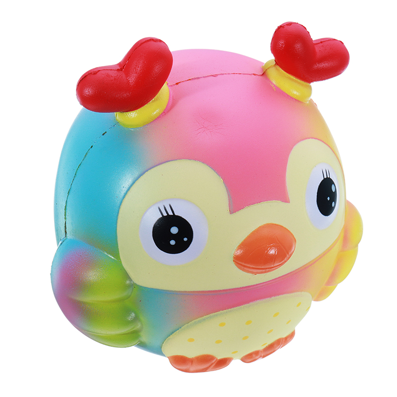 Oriker OWL Squishy 15*14*12.5 CM Slow Rising With Packaging Collection Gift Kid Toy