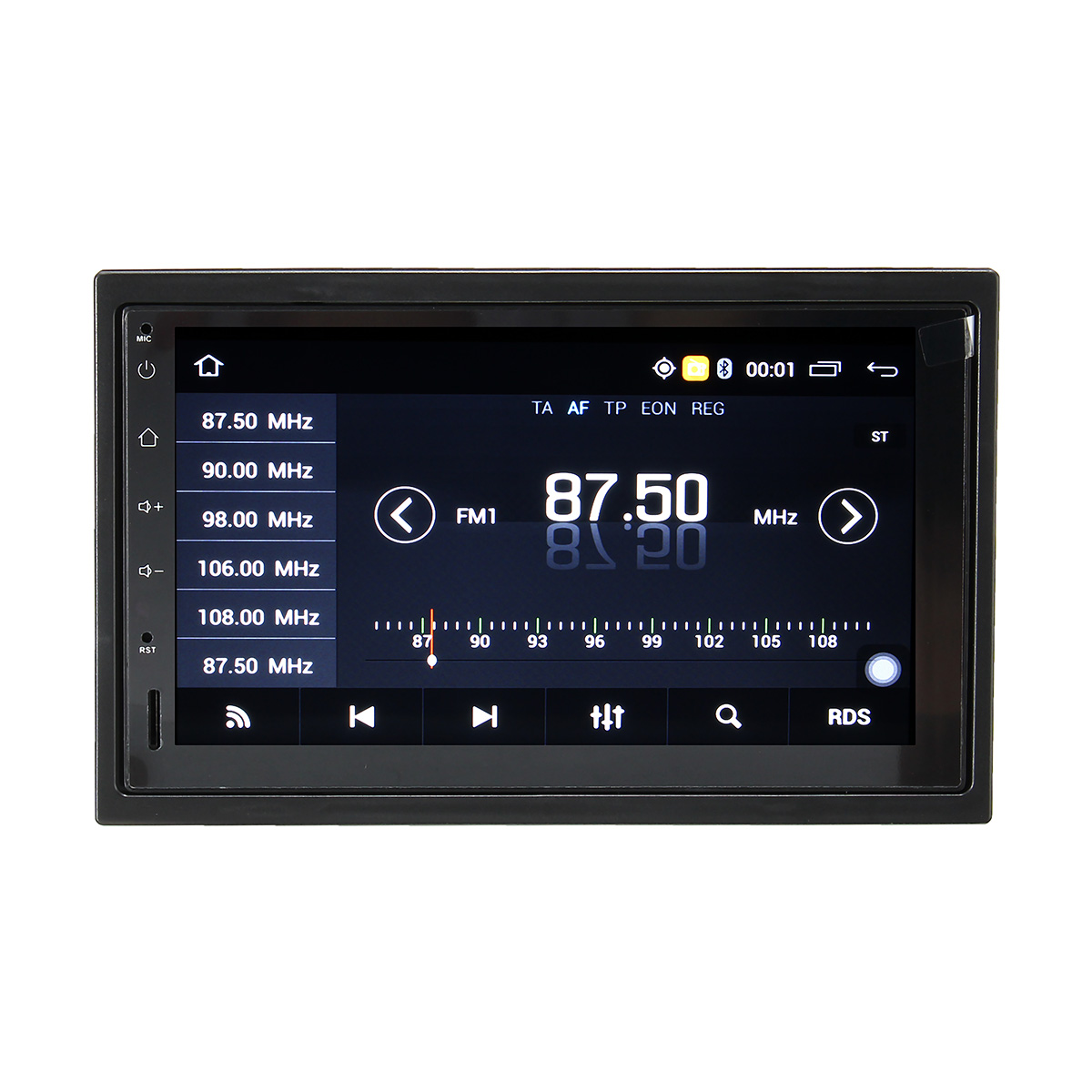 7 Inch Android 4.4 GPS Navigation Car Stereo FM Radio bluetooth WIFI DVD Player