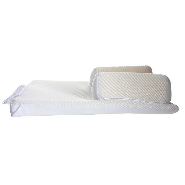 Baby Sleep Positioner Pillow Anti Roll Sleeping Mat Safe Head Back Waist Support