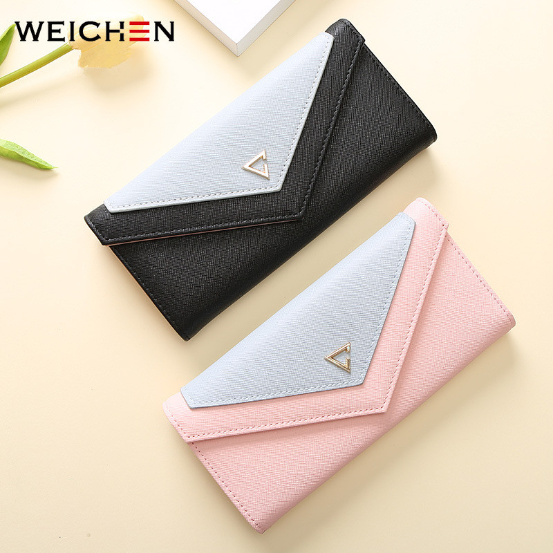 Universal Women PU Leather Large Capacity Wallet for iPhone Xiaomi Mobile Phone Under 5.5 Inch