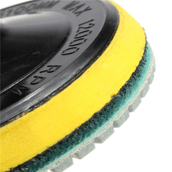 12pcs 4 Inch 30-6000 Grit Wet Dry Diamond Polishing Pads with Self-Adhesive Disc