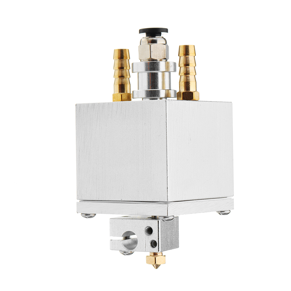 Water-cooled E3D V6 Hotend Single Extruder Head Assembly Kit With 1.75mm 0.4mm Nozzle For Reprap Prusa i3 3D Printer