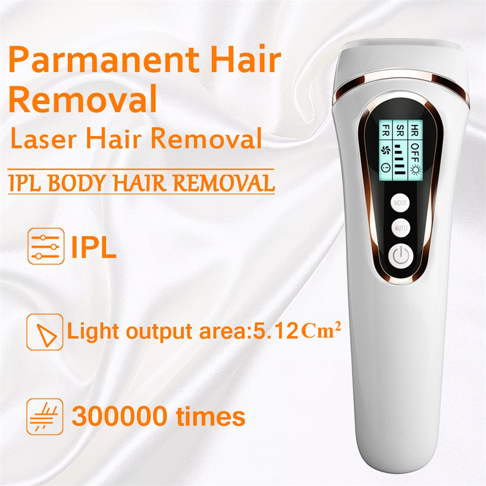 300000 Pulses IPL Laser Epilator Full Body Hair Removal