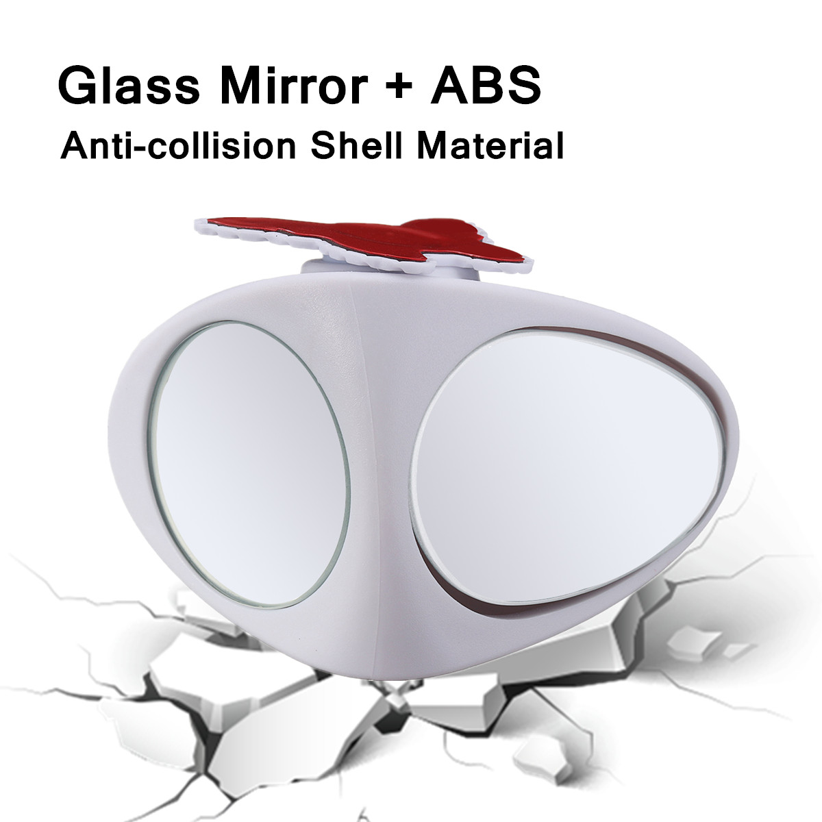 Car Blind Spot Parking Multi-Purpose Auxiliary Rear View Front Wheel Mirror
