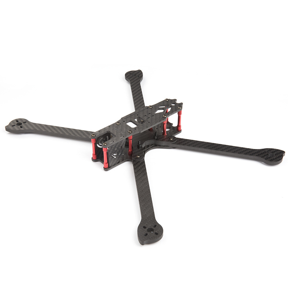 IFlight XL8 8 Inch 360mm Wheelbase 5.5mm Arm 3K Carbon Fiber Freestyle FPV Frame Kit for RC Drone - Photo: 3