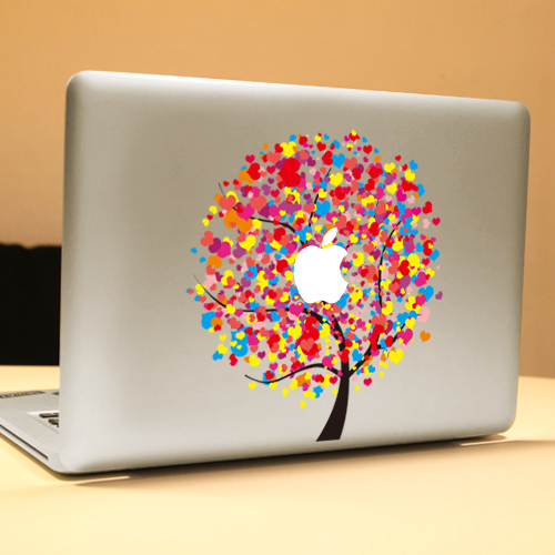 PAG The Giving Tree Decorative Laptop Decal Removable Bubble Free Self-adhesive Skin Sticker