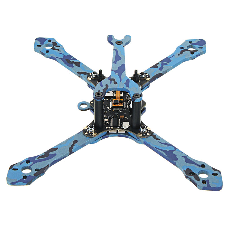 Eachine Wizard TS215 215mm FPV Racing Frame 4mm Frame Arms Carbon Fiber - Photo: 3