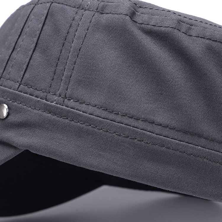 Men Plain Snapback Flat Baseball Cap Adjustable Outdoor Sport Hip-Hop Hat