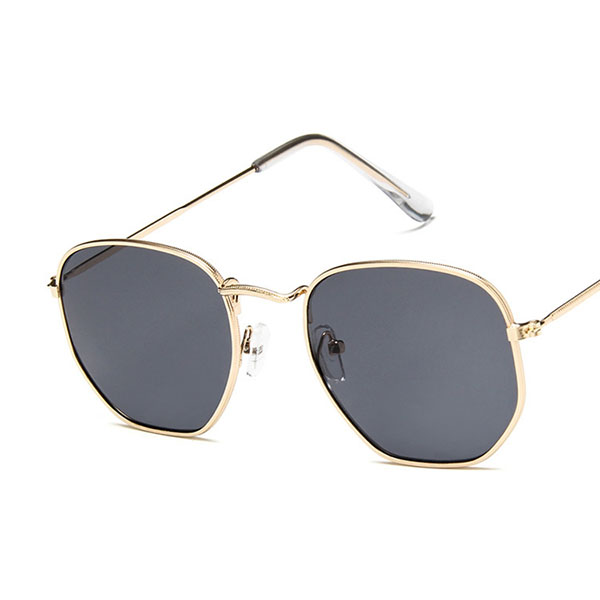 Men Women Vintage Anti-glare Sunglasses