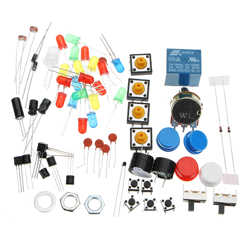 LCD1602 Breadboard DuPont Cable RFID Starter Learning Kit For Arduino Raspberry Pi 3 Pi 2 Model B / B+