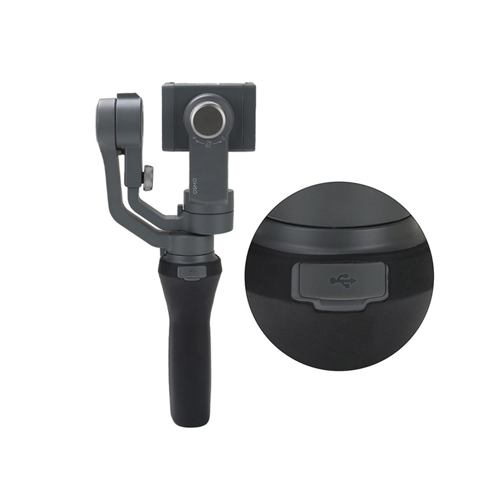 Silicone Handle Gimbal Case Anti-scratch Durable Sleeve Protector for DJI OSMO Mobile 2