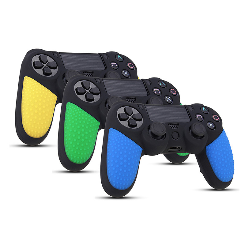 Silicon Cover Case Protection Skin for SONY for Playstation 4 PS4 for Dualshock 4 Game Controller