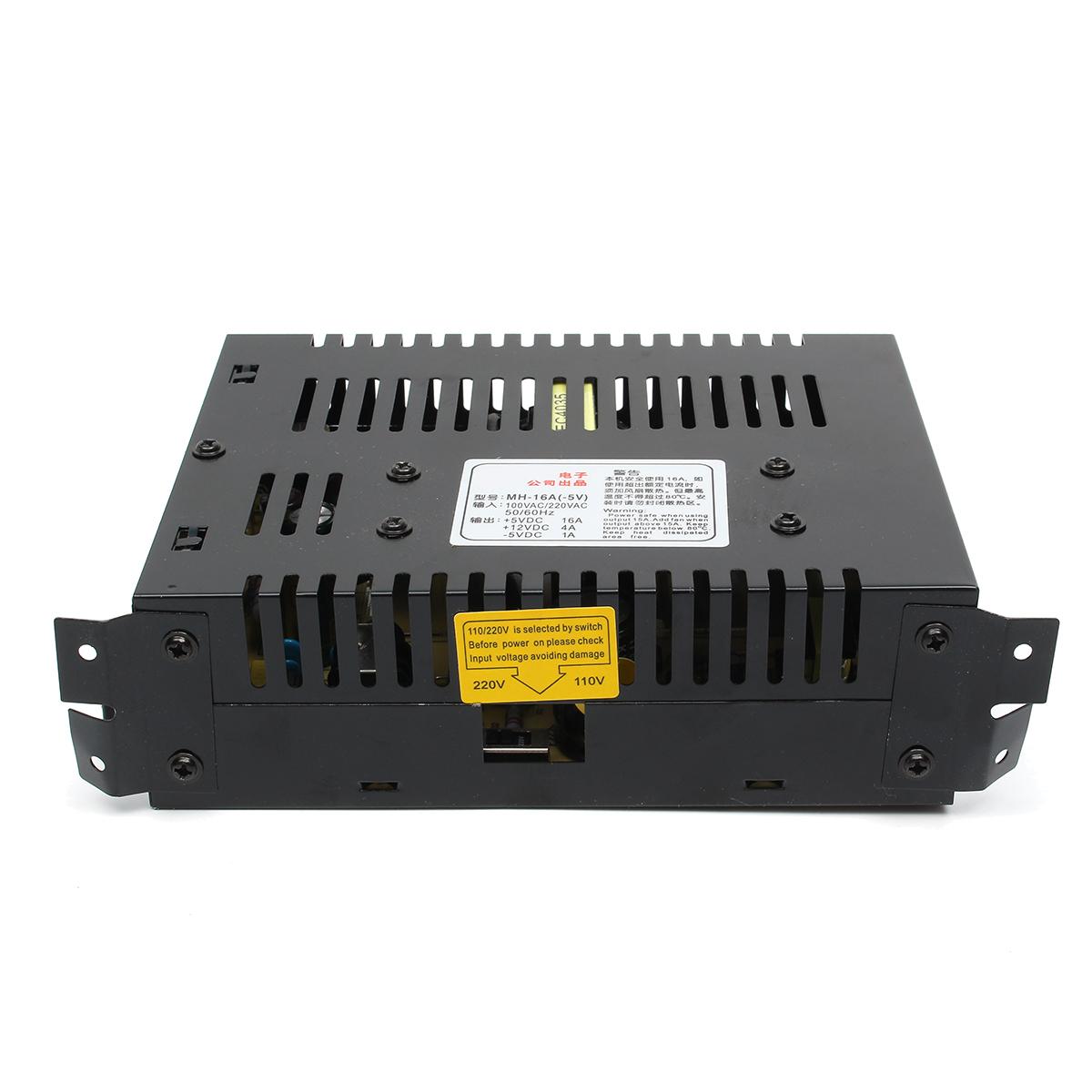 AC 15A 220V to DC 5V 12V Transformer Switching Power Supply