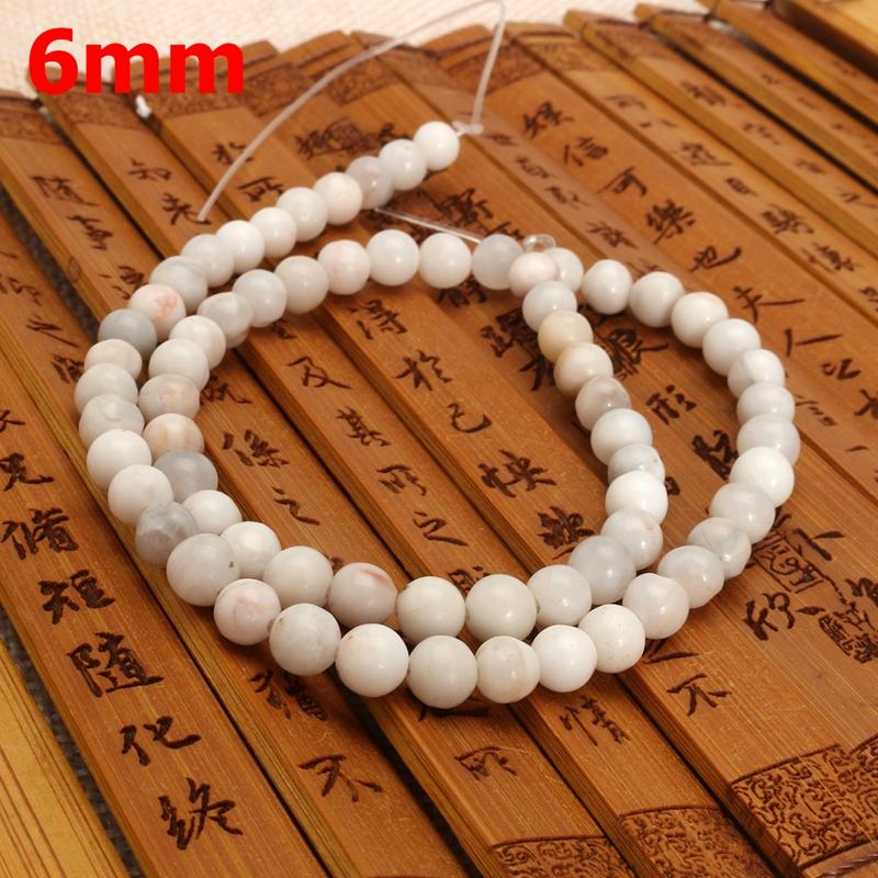 Round Agate Moonstone Gemstone Loose Beads
