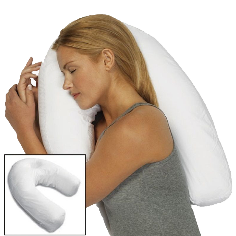 Unisex Sleeper Pillow Neck Spine Shoulder Support Cushi