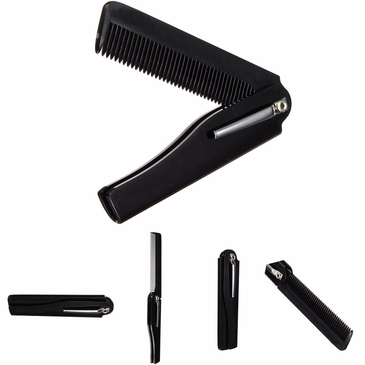 Folding Pocket Mustache Beard Care Maintain Comb