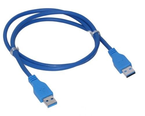 1m USB 3.0 Type A Male to Type A Male USB Extension Cable for Data