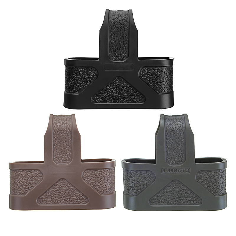 3 Sizes Tactical Fast Mag Rubber Loops for M4/16 Magazine Hunting Assist Black Green Cameo